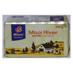 Clover Mooi River Salted Choice Butter 500g - BalmoralOnline - Groceries