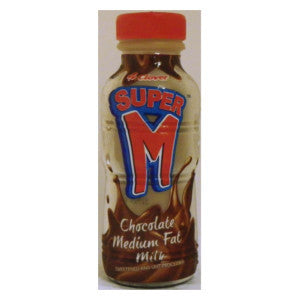 Clover Super M Chocolate Milk Bottle 300ml - BalmoralOnline - Groceries