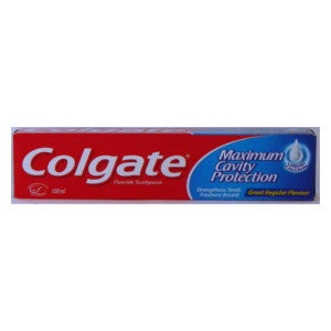 Colgate Maximum Cavity Protection Box 100ml - BalmoralOnline - Household
