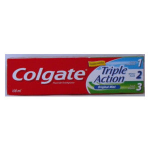 Colgate Triple Action Mint Box 100ml - BalmoralOnline - Household