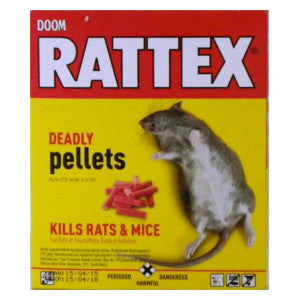 Doom Rattex Deadly Pellets Box 100g - BalmoralOnline - Household