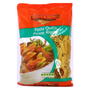 Fatti's & Moni's Pasta Quills Penne Rigate Packet 500g - BalmoralOnline - Groceries