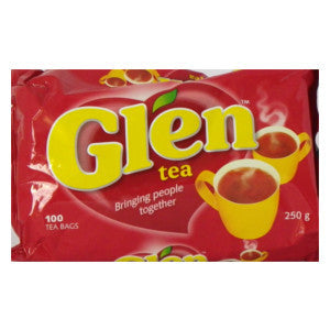 Glen Tea (100's) Packet 250g - BalmoralOnline - Groceries