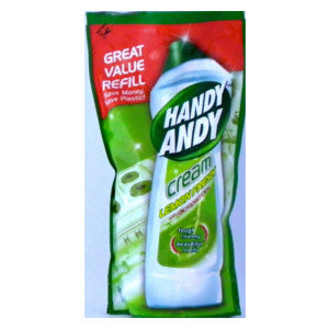 Handy Andy Cream Lemonfresh 750ml Refill - BalmoralOnline - Household