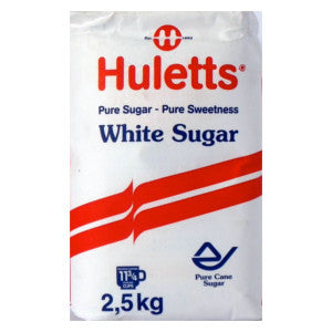 Huletts White Sugar Pack 2.5kg - BalmoralOnline - Groceries