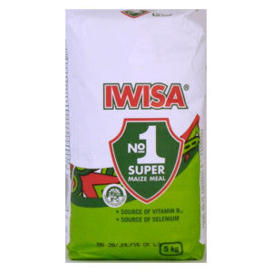 Iwisa Super Maize Meal 5kg - BalmoralOnline - Groceries