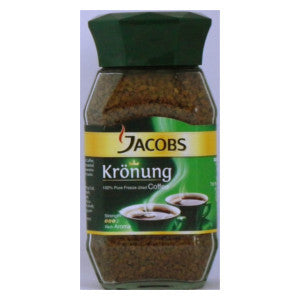 Jacobs Kronung Coffee JAR 100g - BalmoralOnline - Groceries