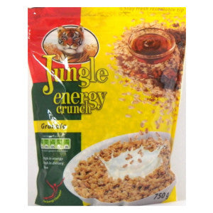 Jungle Energy Crunch Granola Packet 750g - BalmoralOnline - Groceries