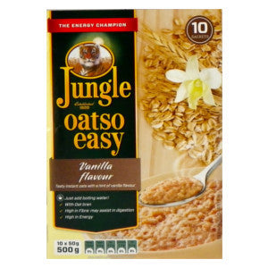 Jungle Oatso Easy Vanilla  Flavour Box 500g - BalmoralOnline - Groceries