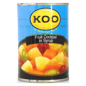 Koo Fruit Cocktail In Syrup 410g Can - BalmoralOnline - Groceries