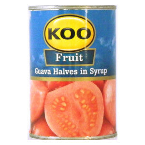 Koo Fruit Guava Halves In Syrup 410g Can - BalmoralOnline - Groceries