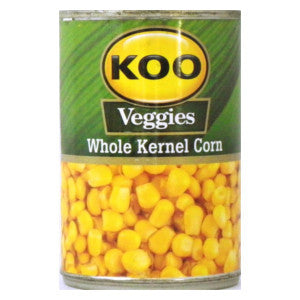 Koo Veggies Whole Kernel Corn Tin 450g - BalmoralOnline - Groceries