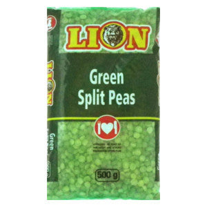 Lion Green Split Peas 500g - BalmoralOnline - Groceries