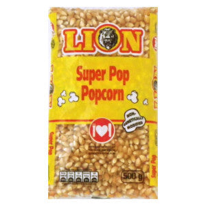 Lion Super Pop Popcorn 500g - BalmoralOnline - Groceries