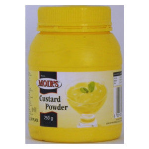 Moir's Custard Powder Bottle 250g - BalmoralOnline - Groceries