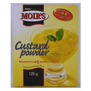 Moir's Custard Powder Box 125g - BalmoralOnline - Groceries