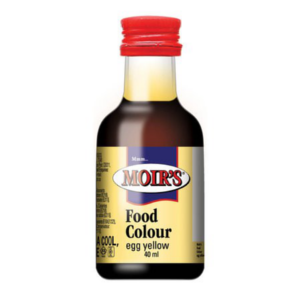Moir's Food Colour Egg Yellow 40ml - BalmoralOnline - Groceries
