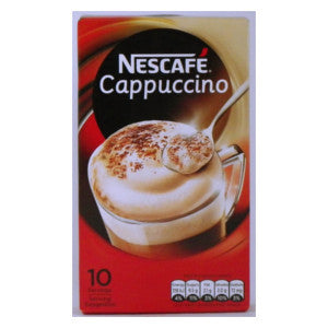 Nescafe Cappuccino Box 180g (10 Servings) - BalmoralOnline - Groceries