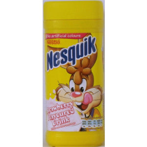 Nestle Nesquick Strawberry Drink 250g - BalmoralOnline - Groceries