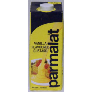 Parmalat Vanilla Flavoured Custard Long Box 1L - BalmoralOnline - Groceries