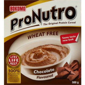 Pronutro Ceral Chocolate Flavoured Box 500g - BalmoralOnline - Groceries
