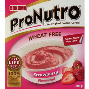 Pronutro Ceral Strawberry Flavoured Box 500g - BalmoralOnline - Groceries