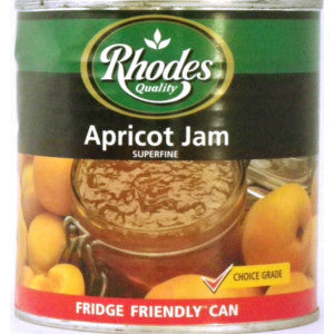 Rhodes Apricot Jam 900g Can - BalmoralOnline - Groceries