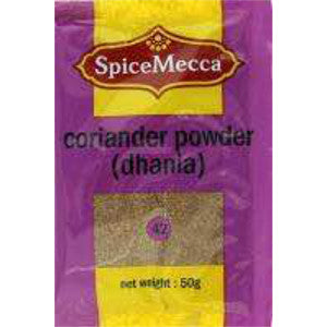 Spice Mecca Coriander Powder Dhania 50g (42) - BalmoralOnline - Groceries
