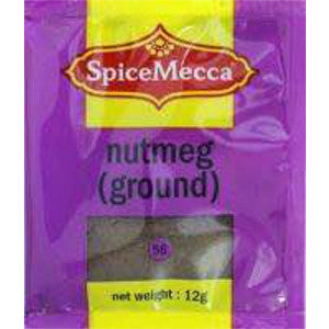 Spice Mecca Nutmeg Ground 12g (56) - BalmoralOnline - Groceries
