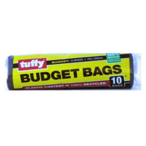 Tuffy Budget Bags 10'S - BalmoralOnline - Household