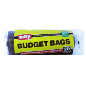 Tuffy Budget Bags 20'S - BalmoralOnline - Household