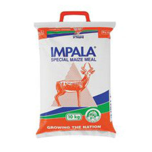 Impala Maize Meal 10kg - BalmoralOnline - Groceries