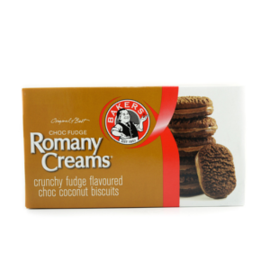 Bakers Romany Creams Crunchy Mint Flavoured 200g - BalmoralOnline - Groceries