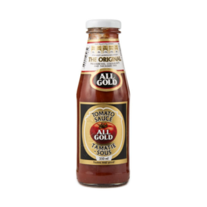All Gold Tomato Sauce Bottle 350ml - BalmoralOnline - Groceries