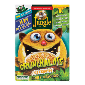 Jungle Crunchalots Honey 375g - BalmoralOnline - Groceries