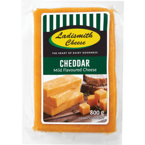 Ladismith Cheese Cheddar 800g