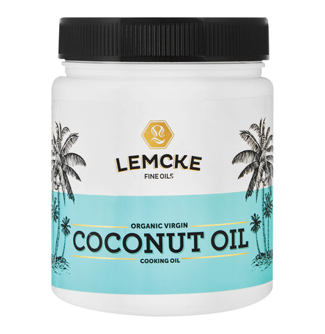 Lemcke Organic Virgin Coconut Oil 1L