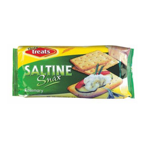 Tasty Treats Saltine Rosemary 100G