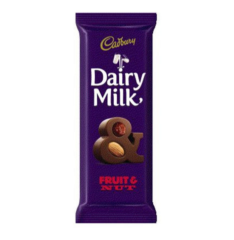 Cadbury Dairy Milk Fruit & Nut Bar 80G