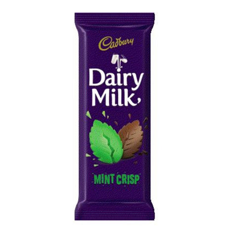 Cadbury Dairy Milk Mint Bar 80G
