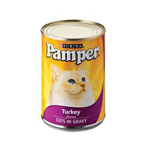 PAMPER TURKEY IN GRAVY 385G
