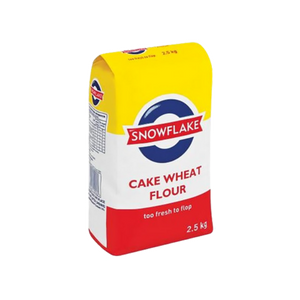Snowflake Cake Wheat Flour Pack 2.5Kg ( limited to 8 per customer)