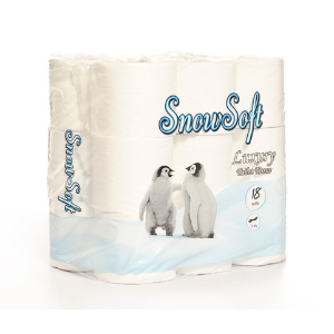 SnowSoft Luxury 2Ply Toilet Paper 18s