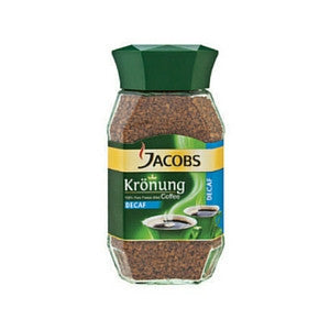 Jacobs Kronung Decaf Coffee Jar 100g - BalmoralOnline - Groceries