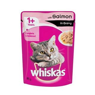 WHISKAS SALMON 85G