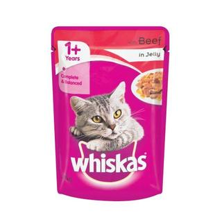 WHISKAS WITH BEEF 85G