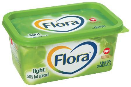 Flora Spread Light Tub 500G