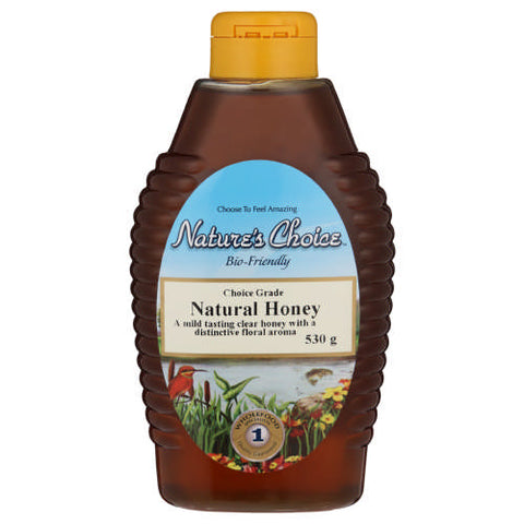 Natures Choice Honey Natural 530G