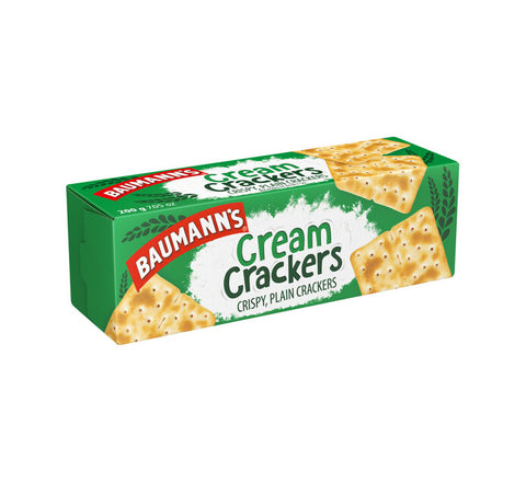 Baumans Cream Crackers 200g