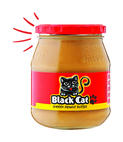 BlackCat Peanut Butter Smooth 400g